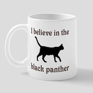 Mystery Black Panther Mug