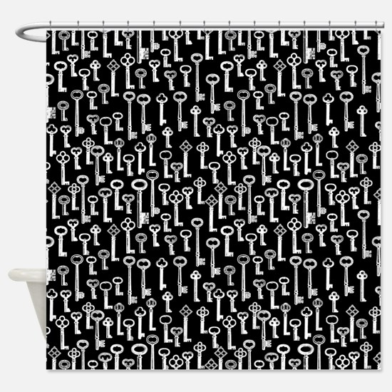 Lots Of Old Keys Shower Curtain