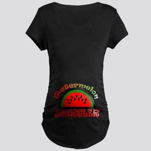 Watermelon Smuggler Maternity T-Shirt