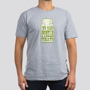 We Can Pickle That! Men's Fitted T-Shirt (dark)