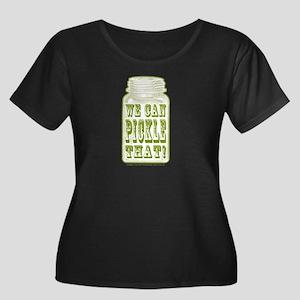 We Can P Women's Plus Size Scoop Neck Dark T-Shirt