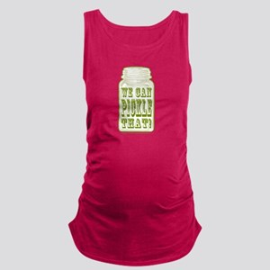 We Can Pickle That! Maternity Tank Top