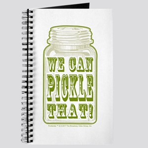 We Can Pickle That! Journal