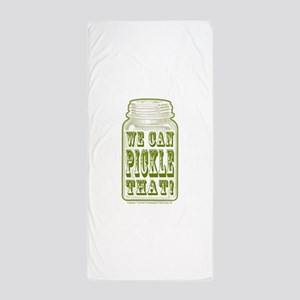 We Can Pickle That! Beach Towel