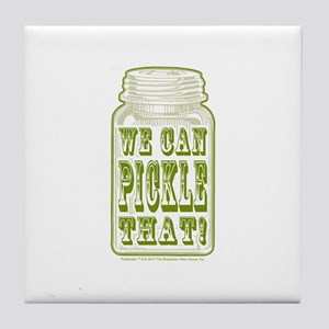 We Can Pickle That! Tile Coaster