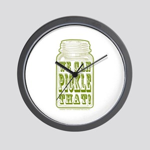 We Can Pickle That! Wall Clock