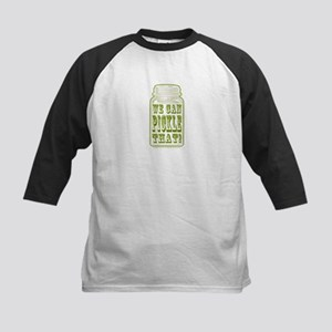 We Can Pickle That! Kids Baseball Jersey