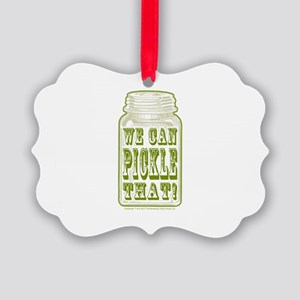 We Can Pickle That! Picture Ornament