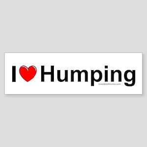 Humping Sticker (Bumper)
