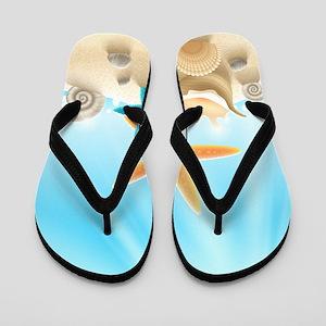 Summer Beach Flip Flops