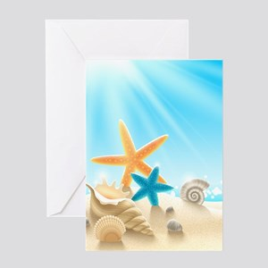 Summer Beach Greeting Cards