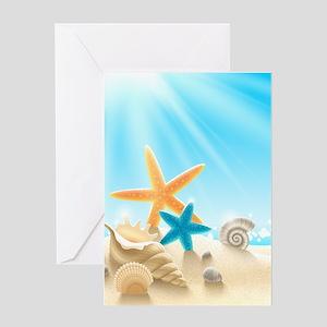 Summer Beach Greeting Cards