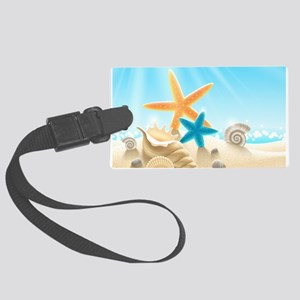 Summer Beach Luggage Tag
