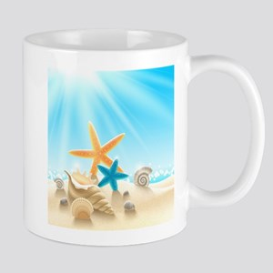 Summer Beach Mugs