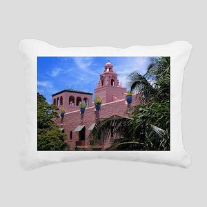 Royal Hawaiian Hotel Rectangular Canvas Pillow