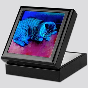 Cat Nap Keepsake Box