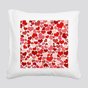 Heart 041 Square Canvas Pillow