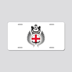 Soccer England Vintage Cres Aluminum License Plate