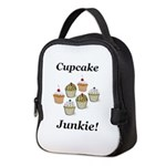 Cupcake Junkie Neoprene Lunch Bag