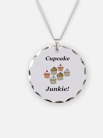 Cupcake Junkie Necklace