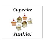 Cupcake Junkie Small Poster