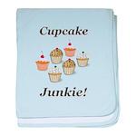 Cupcake Junkie baby blanket
