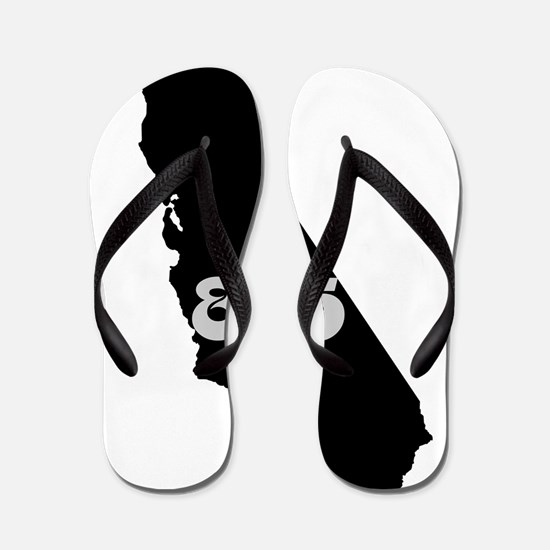 CALIFORNIA 805 [3 black/gray] Flip Flops