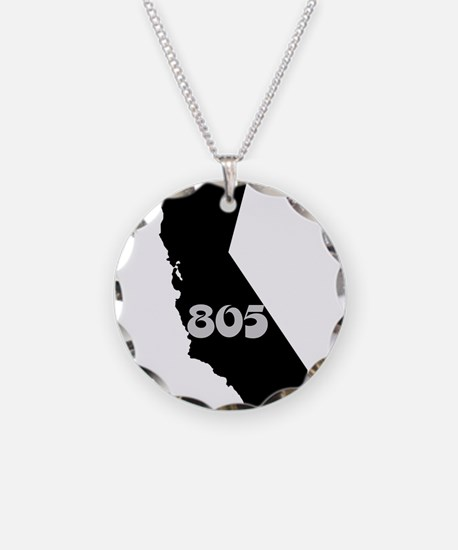 CALIFORNIA 805 [3 black/gray] Necklace