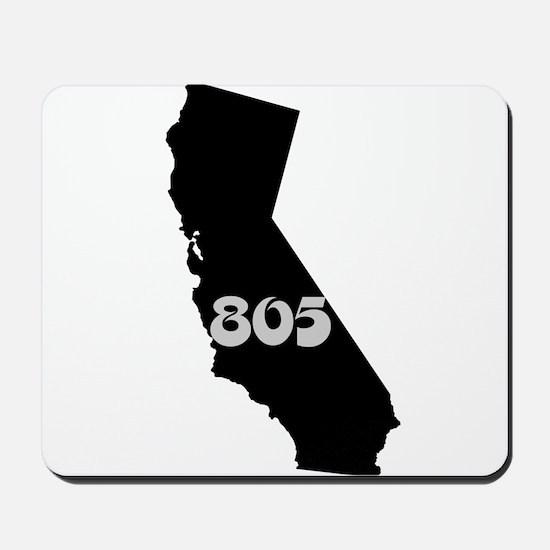 CALIFORNIA 805 [3 black/gray] Mousepad