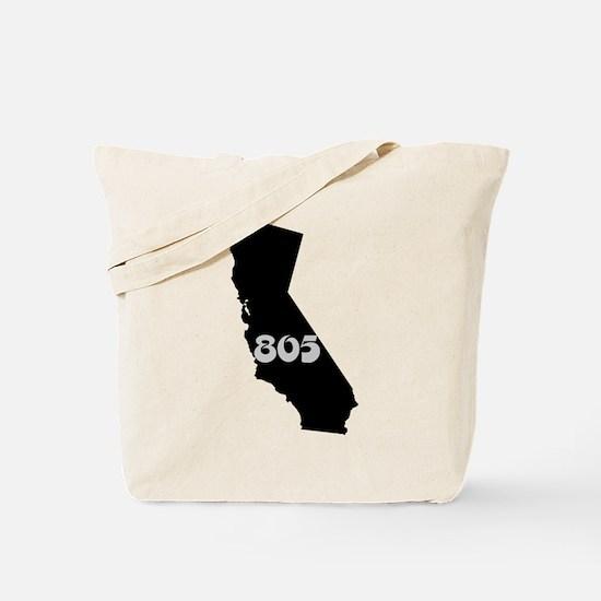 CALIFORNIA 805 [3 black/gray] Tote Bag