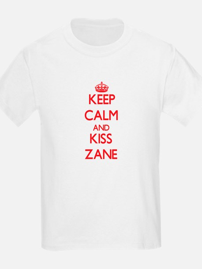 Keep Calm and Kiss Zane T-Shirt