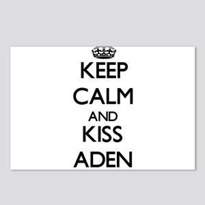 Keep Calm and Kiss Aden Postcards (Package of 8)