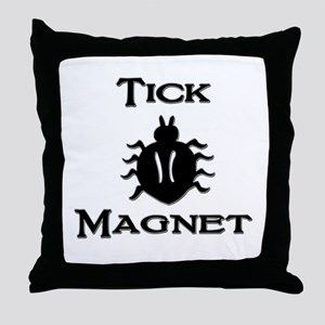Tick Magnet Throw Pillow
