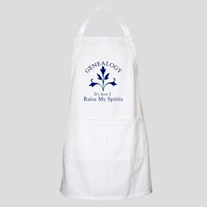 Genealogy Raise Spirits Apron