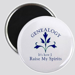 Genealogy Raise Spirits Magnet