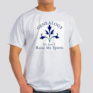 Genealogy Raise Spirits Light T-Shirt