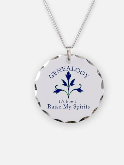 Genealogy Raise Spirits Necklace