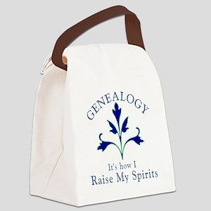 Genealogy Raise Spirits Canvas Lunch Bag