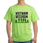 Vietnam Veteran Green T-Shirt