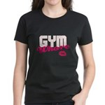 Gym Whore on Color Women's Dark T-Shirt