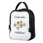 Cupcake Addict Neoprene Lunch Bag