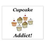 Cupcake Addict Small Poster