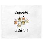 Cupcake Addict King Duvet