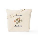 Cupcake Addict Tote Bag
