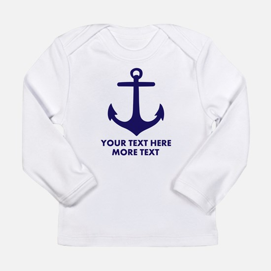 Nautical boat anchor Long Sleeve T-Shirt