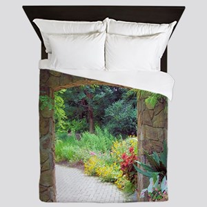 Stone Door Path Queen Duvet