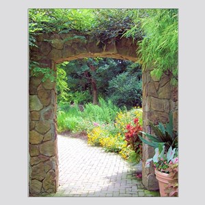 Stone Door Path Small Poster