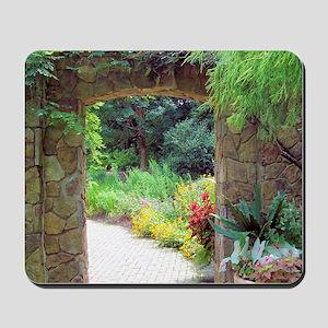 Stone Door Path Mousepad