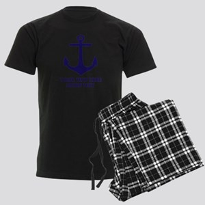 Nautical boat anchor Pajamas
