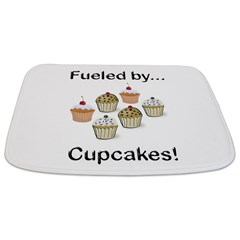 Fueled by Cupcakes Bathmat